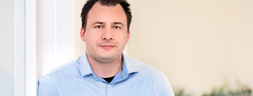 Christian Greifenberg, IT-Techniker, Mitarbeiter Cobotec - Bielefeld
