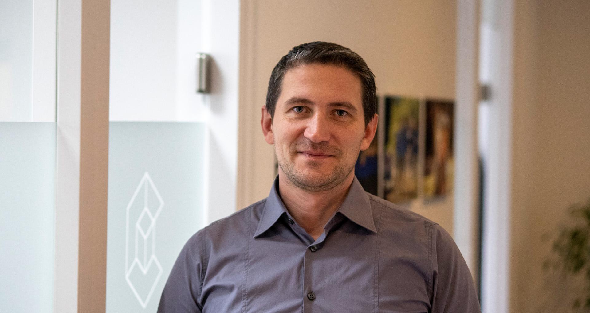 Dimitri Huber, IT-Techniker, Mitarbeiter Cobotec - Bielefeld