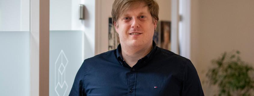 Gerrit Willinghöfer, IT-Techniker, Mitarbeiter Cobotec - Bielefeld